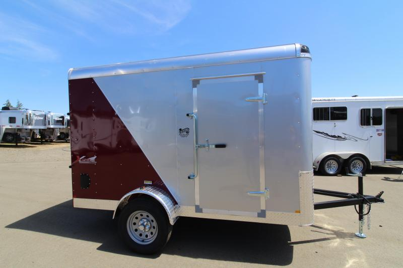 2019 Mirage Trailers Xcel 6x10 Single Axle Enclosed Cargo Trailer