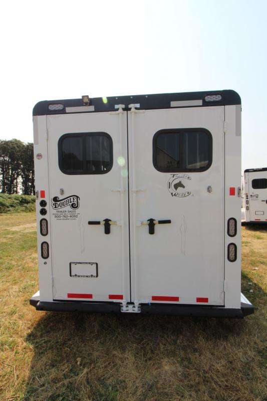 2017 Trails West Sierra - Aluminum skin steel frame - Lined & Insulated Roof - 3 Horse Trailer Price Reduced $700