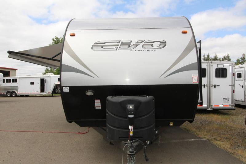 2019 Evo 2160 Travel Trailer - Arctic Package - Power Stabilizer Jacks & Power Awning - PRICE REDUCED BY $1800