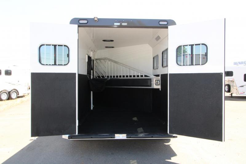 "2019 Trails West Sierra Select  - 7'6""T 2 Horse Trailer - Vacuum Bonded Aluminum Siding"