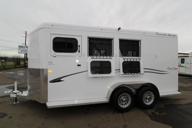 2019 Trails West Classic 3 Horse Trailer- Extra Tall 7'6""