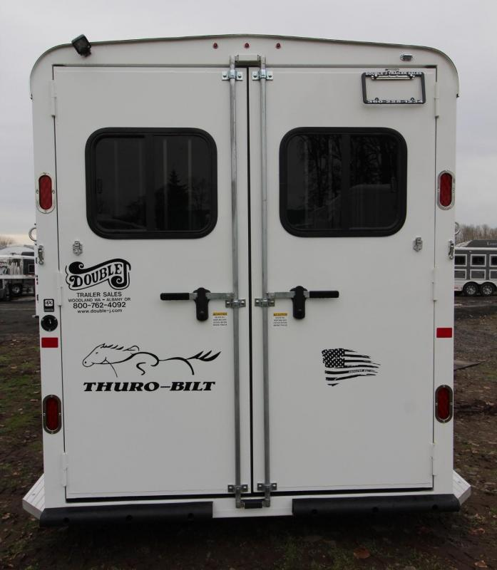 2019 Thuro-Bilt Liberty 4 horse Trailer w/ Swing out saddle rack