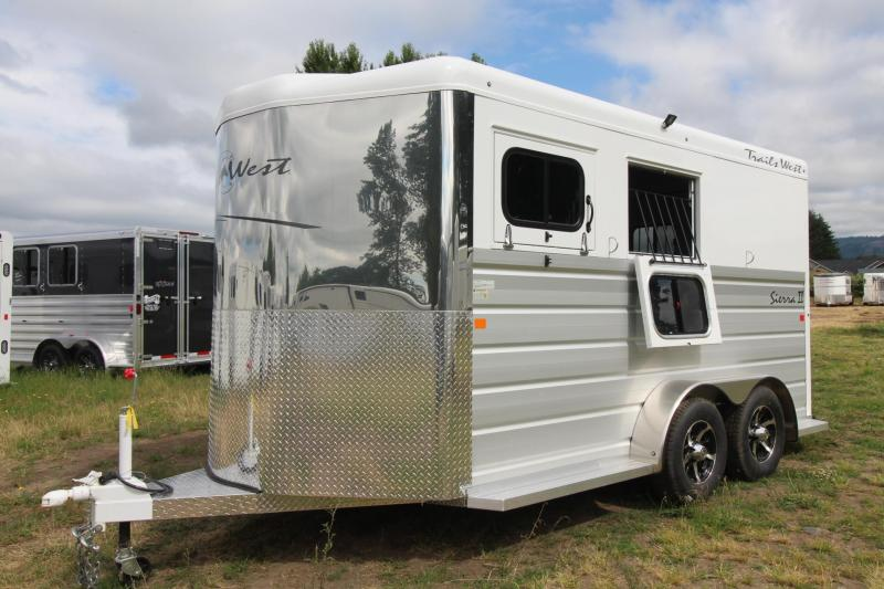 2018 Trails West Sierra Warmblood  2 Horse Trailer Lined & Insulated