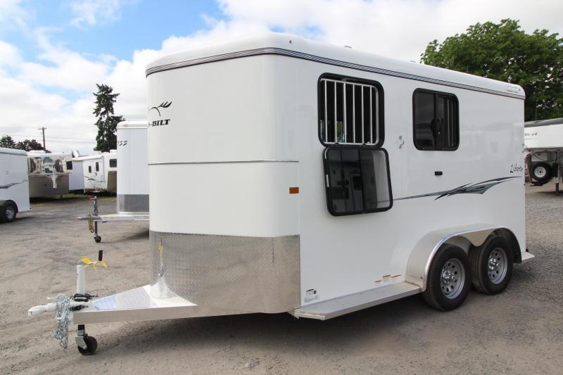 2020 Thuro-Bilt Liberty 2 Horse Trailer Extra Tall Swing Out Saddle H20