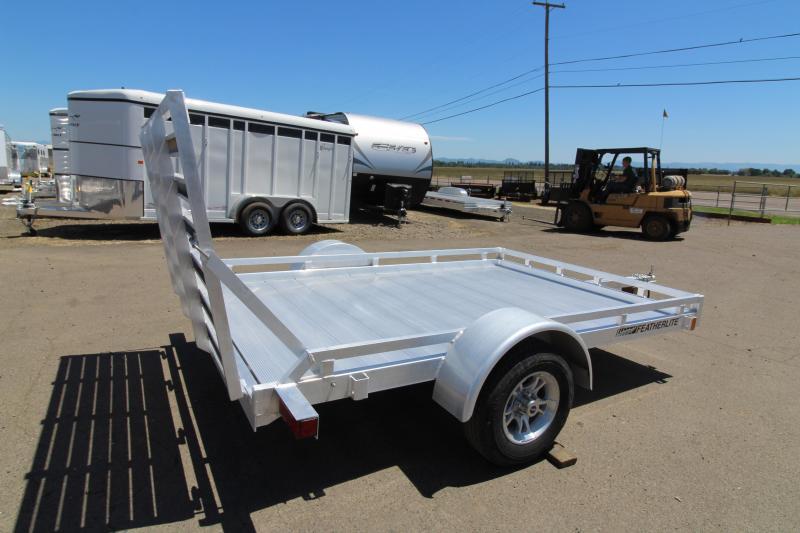2019 Featherlite 1693 - 10 ft Utility Trailer - All aluminum - Single axle - PRICE REDUCED $200