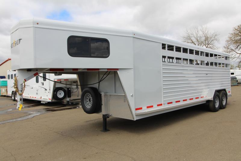 2019 Trails West Manufacturing Hotshot Livestock Trailer in Ashburn, VA