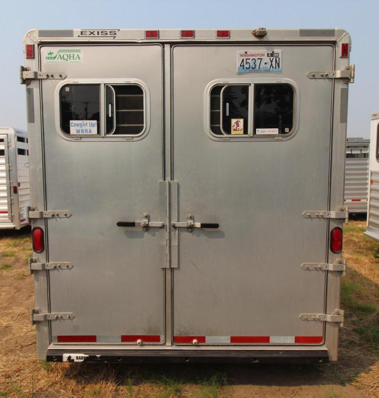 1997 Exiss Maximum SX 3 Horse Trailer w/ rear tack