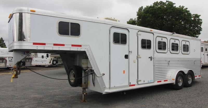 1999 Featherlite Weekender 4 Horse Trailer W/ escape door & Rear Tack -Not Ready For Sale-
