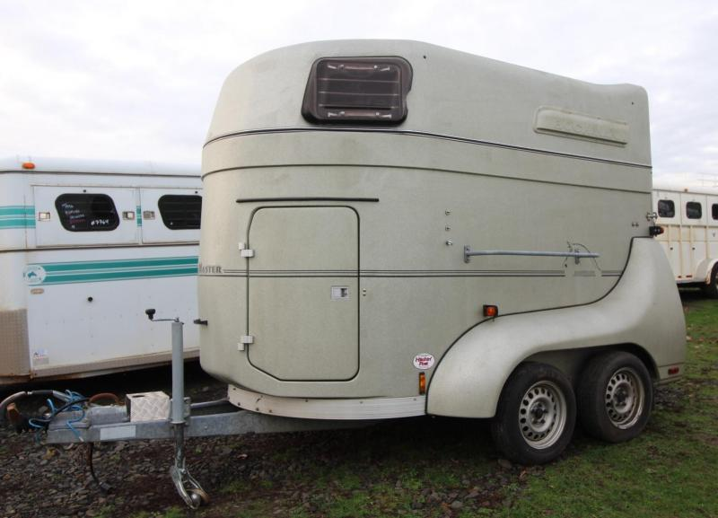 2003 Bockmann Bigmaster 2 Horse Trailer - LIGHT WEIGHT
