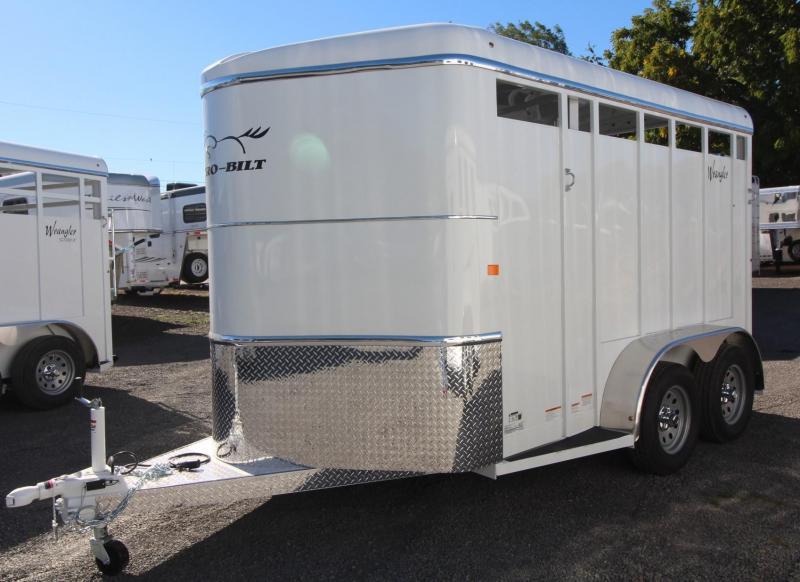 2019 Thuro-Bilt Wrangler 2 Horse Trailer 7' Tall Spare Extra Divider Catch