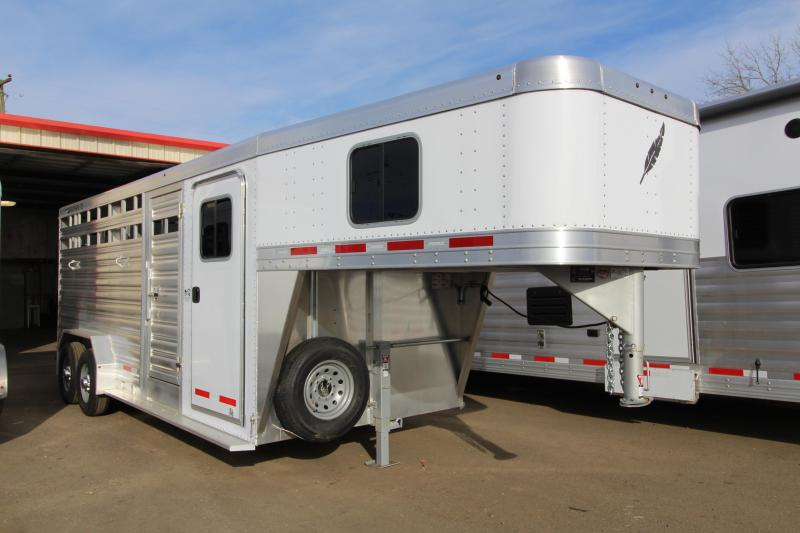 2019 Featherlite 8413 20' Stock Combo - Tack Room Package