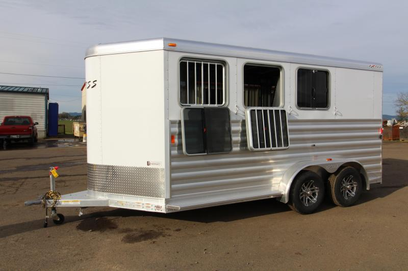 2018 Exiss Express XT 3 Horse Trailer - All Aluminium - Easy Care Flooring - Air Flow Dividers - PRICE REDUCED BY $300