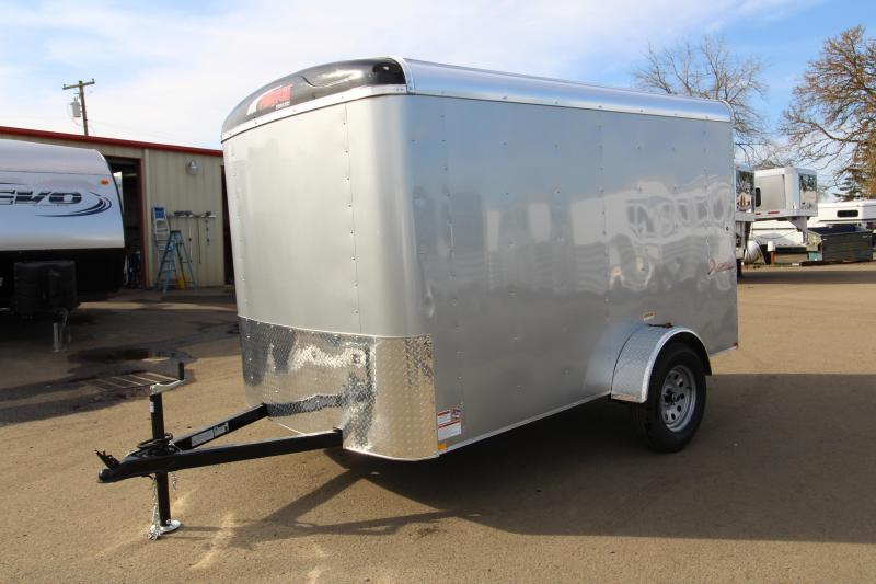 2019 Mirage Trailers X-Cel 6 x 10 Enclosed Cargo Trailer - Diamond Ice Exterior Color