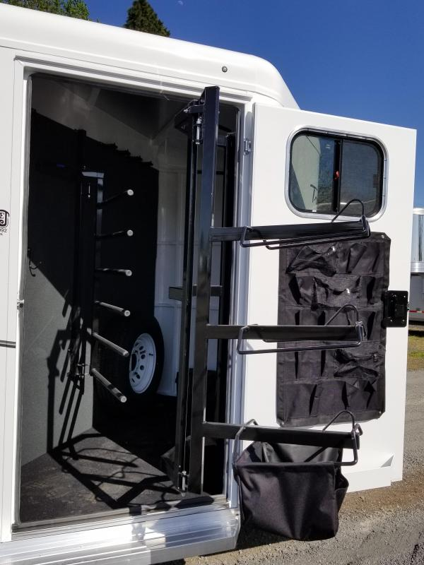 2018 Trails West Classic II 3 Horse Trailer - Lined & Insulated Roof