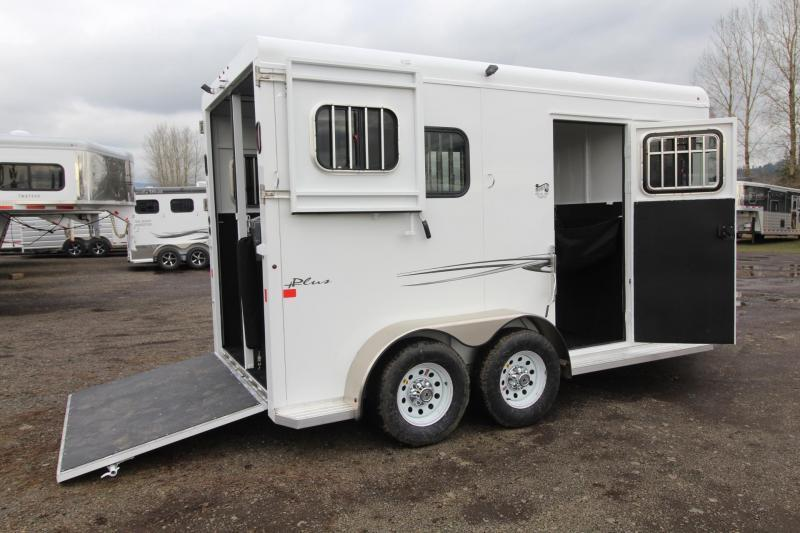 2018 Trails West Royale Plus 2 Horse Straight Load Warmblood Trailer ...