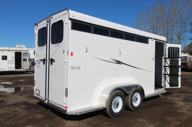 2018 Fabform Vision Deluxe 3 Horse Trailer - Double Rear Doors - Large Adjustable Stalls