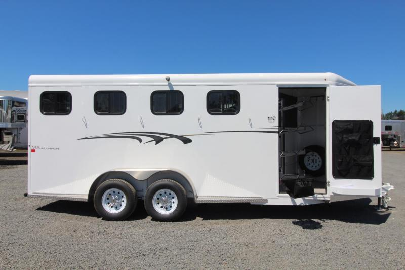 2019 Trails West Adventure MX II 4 Horse Trailer *Now with larger stalls*