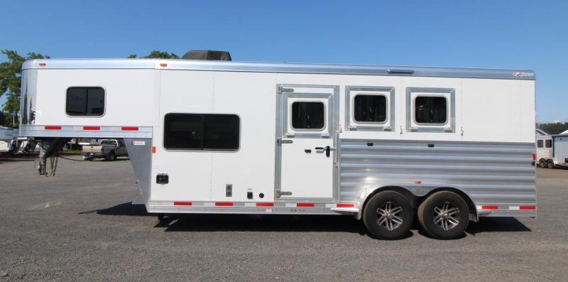 "2018 Exiss Escape 7306 - 6' 6"" Short wall LQ 3 Horse Trailer"