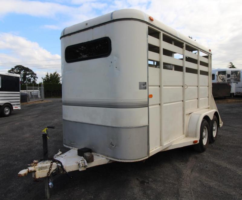 1989 Charmac 2 Horse Trailer w/ Swinging Tack Wall
