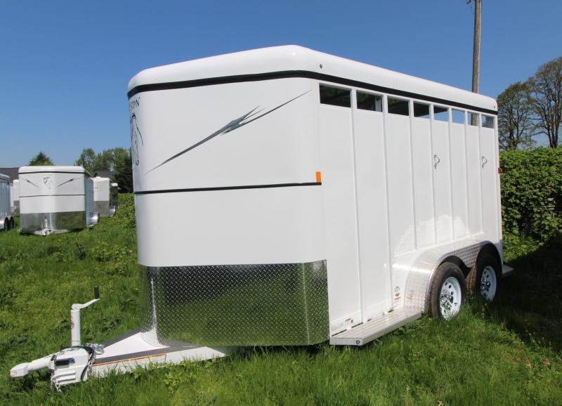 2018 Fabform Vision 2 Horse Trailer - Galvanized Steel - Swing out Saddle Rack - Adjustable Stalls