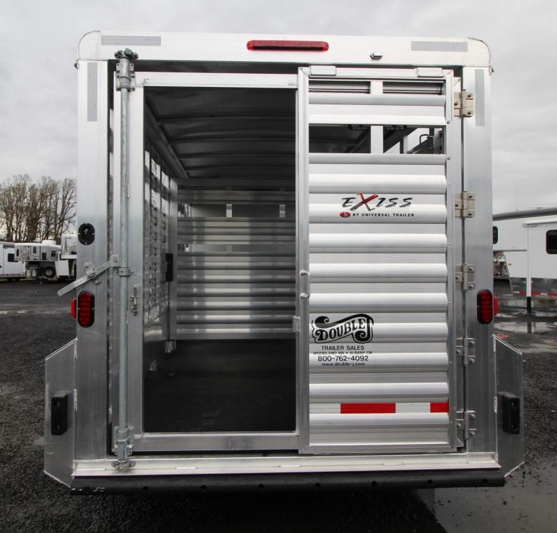 2019 Exiss STC 7020 Stock Combo Trailer w/ Tack Room