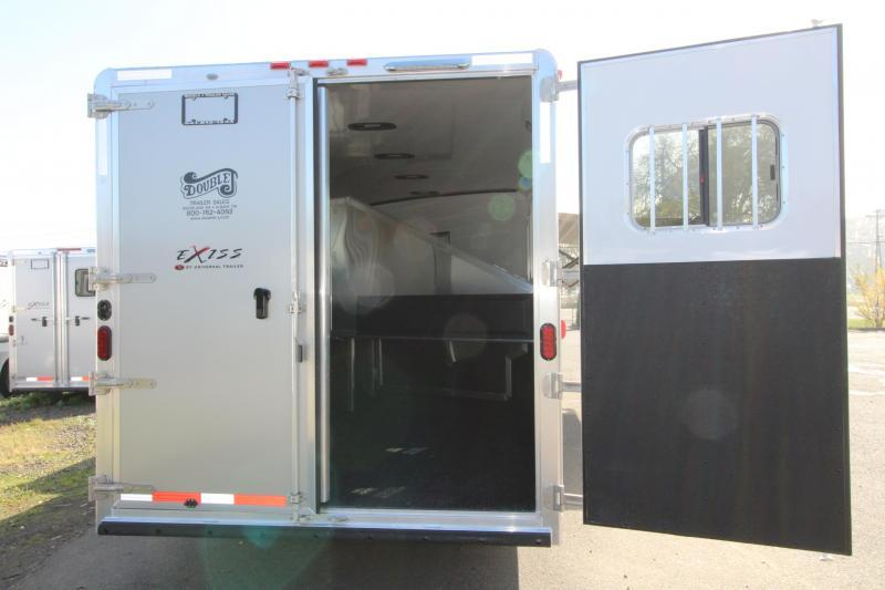 2018 Exiss 8416 - 4 Horse - 16' SW LQ w/ Slide Out All Aluminum Horse Trailer - Dinette and Sofa!  TOTAL PRICE REDUCTION OF $5100
