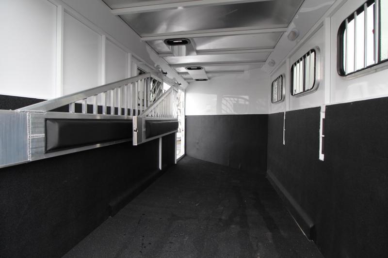 2019 Trails West Classic II 3 Horse Trailer w/ Escape Door