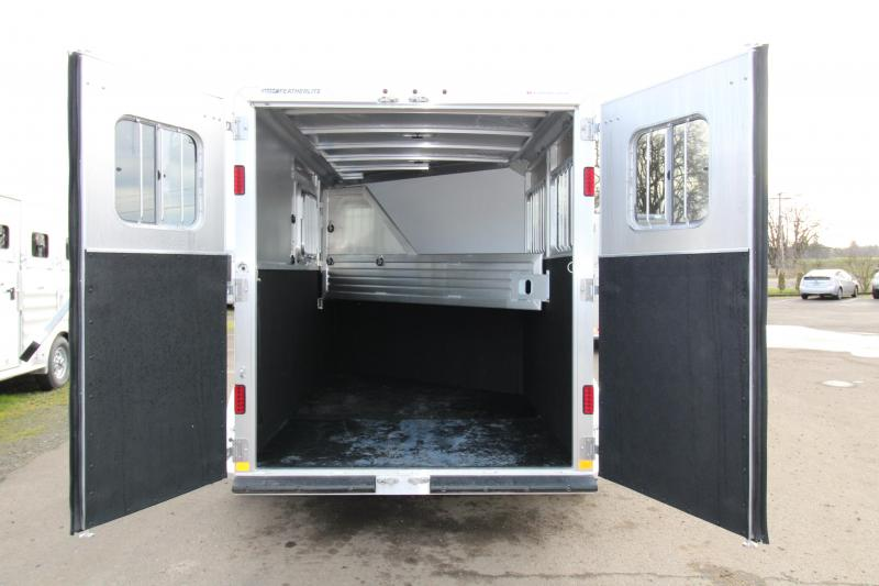 2017 Featherlite 9409 2 Horse Bumper Pull Trailer - All Aluminum - 7' Tall - Roomy Tack Room with Swing Out Saddle Rack $Reduced $1000