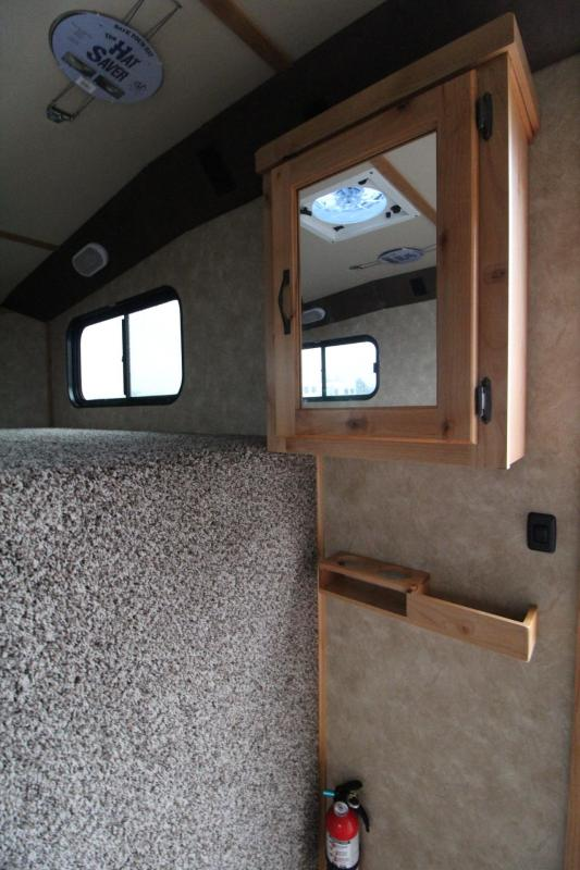 2019 Trails West Classic 5x5 Comfort Package Sleeping Area 3 Horse Trailer w/ side tack & Lined & Insulated roof