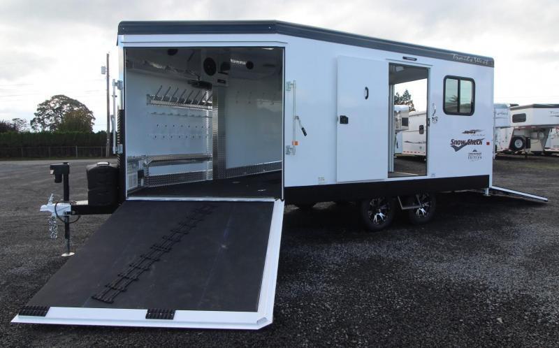 2019 Trails West 20ft RPM Snow Check Burandt Snowmobile Trailer