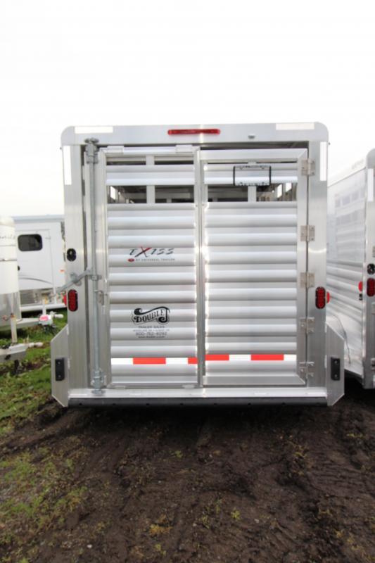 """2018 Exiss STK 713 Livestock Trailer - 7'2"""" Tall - All Aluminum"""