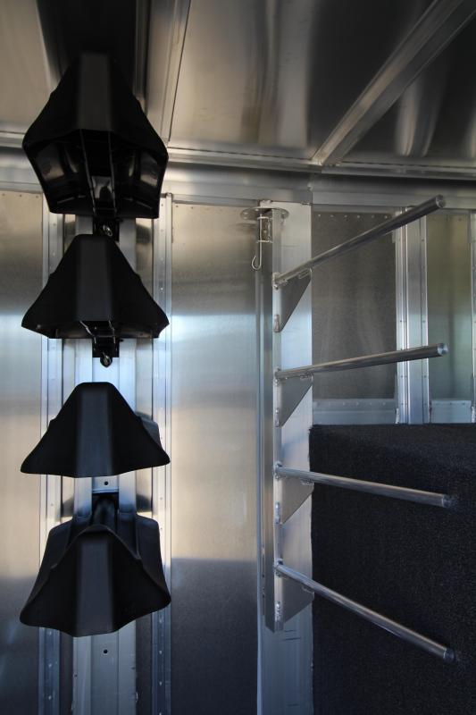 2020 Featherlite 8413 - 20' Livestock Combo All Aluminum Gooseneck Trailer - Fully Enclosed Tack Room