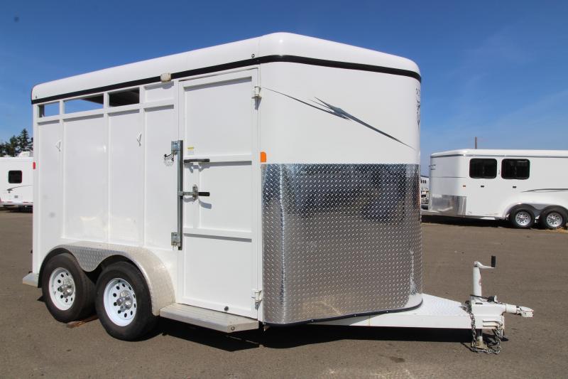 2016 Fabform Vision 2 Horse Slant Trailer -  Swinging Tack Wall - Swing Out Saddle Rack - Dual 3500 lb axles - High side air gaps