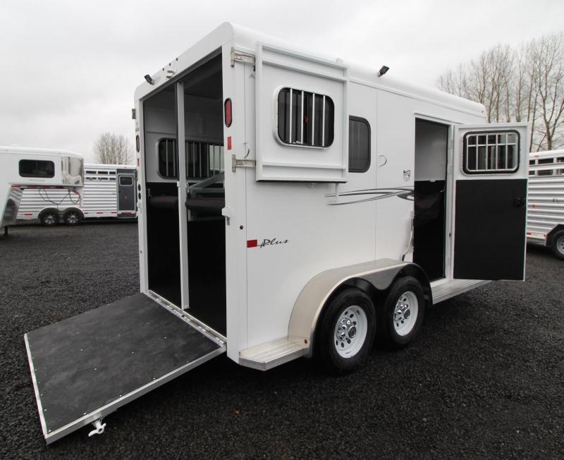 2019 Trails West Royale Plus Warmblood 2 Horse Straight Load Trailer