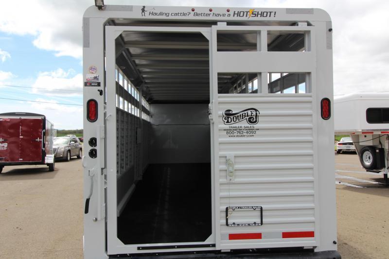 2019 Trails West Manufacturing Hotshot Livestock Trailer