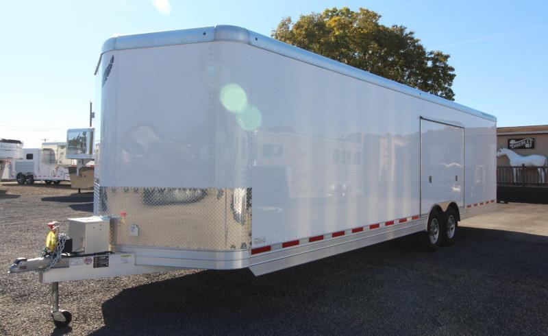 2019 Featherlite 4926 - 28ft Car Trailer w/ vending door - lined and insulated