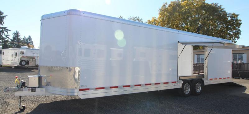 2019 Featherlite 4926 - 28ft Enclosed Car Trailer w/ vending door - lined and insulated