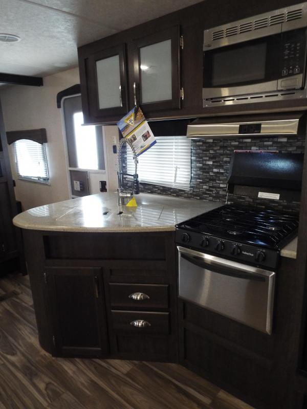 2018 Evo Travel Trailer Model 2850 w/ Bunk Beds - Slide Out - Arctic Package - Solar Prep - PRICE REDUCED BY $1900