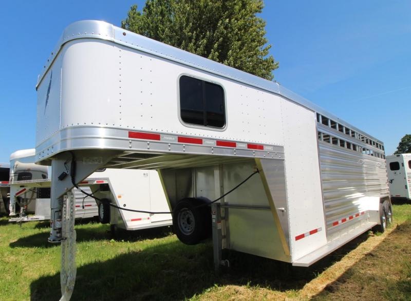 2019 Featherlite 8413 - 24ft Stock Combo Livestock Trailer - PRICE REDUCED $500