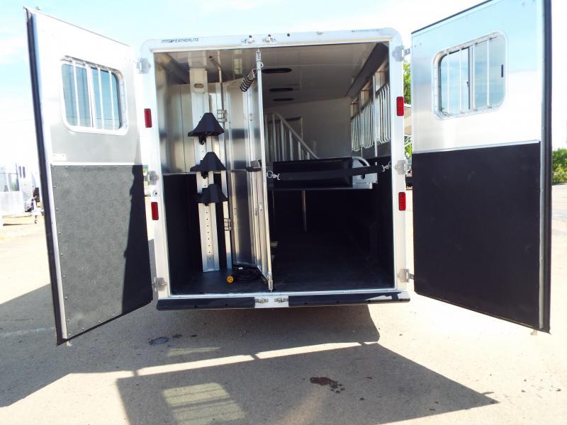 2017 Featherlite 8542 9 ft LQ - 3 Horse - Mangers - All Aluminum Horse Trailer REDUCED $2550