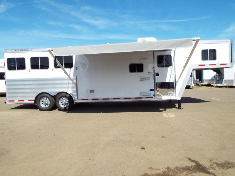 2017 Featherlite 8542 9 ft LQ - 3 Horse - Mangers - All Aluminum Horse Trailer REDUCED $2550