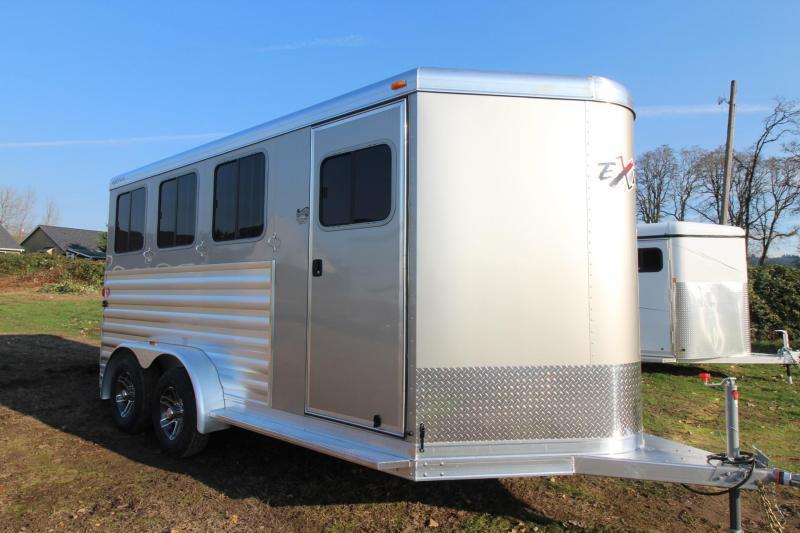 2018 Exiss Express - Polylast Flooring Upgraded Thicker Side Sheets All  Aluminum 3 Horse Trailer PRICE REDUCED $1500