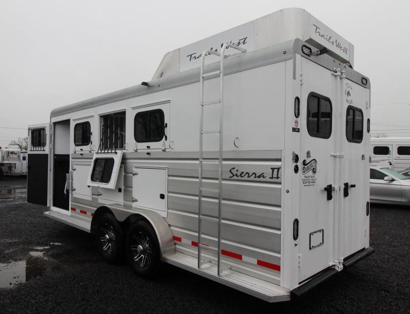 2019 Trails West Sierra II 4 Horse Trailer w/ Mangers & Hay Rack *CUSTOM ORDER ONLY*