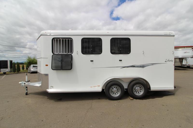 2020 Thuro-Bilt Liberty 3 Horse Trailer - 7'6