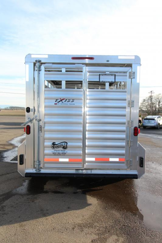 "2018 Exiss STK 7016 16 ft Stock Trailer - 7'2"" Tall - Livestock Trailer"