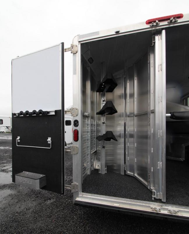 2019 Exiss Endeavor 8310 Living Quarters 3 Horse Trailer 8' wide 10ft SW