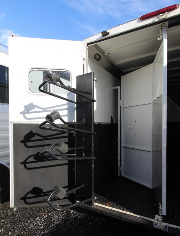 "2005 Logan Coach Aluminum XT 7'6"" Tall 4 Horse 8' SW Living Quarters Trailer PRICE REDUCED $1000"
