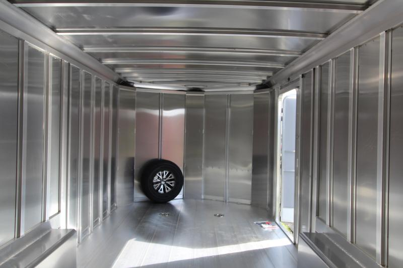 2019 Featherlite 4926 20' Car Trailer - All Aluminum - Charcoal Exterior Sheets - 7' Tall