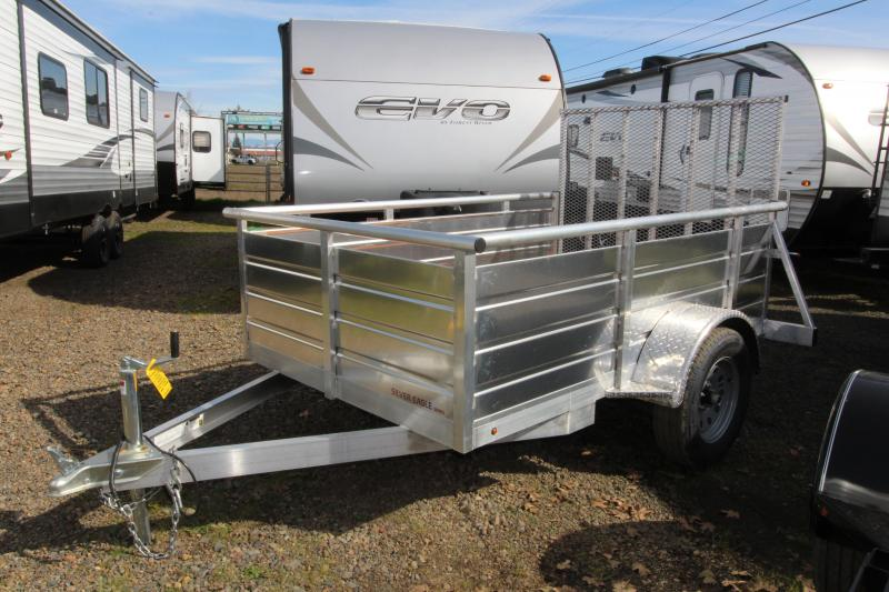 2019 Eagle Trailer 5x8 Single Axle Ultralite Utility Trailer