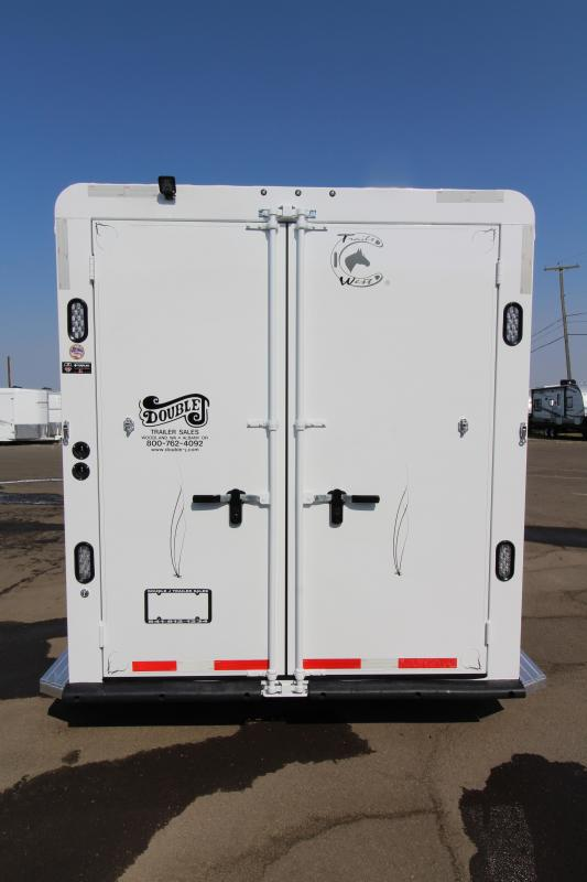 "2019 Trails West Classic - 7'6"" Tall - Comfort package 5x5 - 3 Horse Trailer"